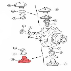FHY2076 Filtr hydrauliki