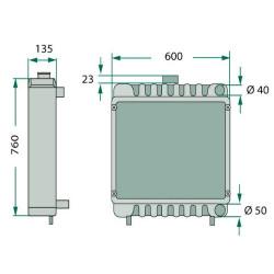 SPO7010 Zaślepka brok bloku silnika 58mm