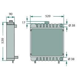 KLI1209 Skraplacz klimatyzacji