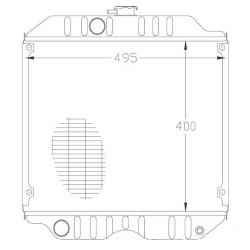 Tarczka zewnętrzna sprzęgła Case 580F, 580G Valtra-Valmet: N163, X100, X110, 6250, N103, 6300, 6350, 6400, T132, T140, T150, T15
