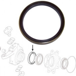 Uszczelniacz piasty koła 150x180x14,5/16mm CLAAS Scorpion 03493560, 3493560 600014 7702  0013002860
