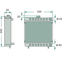 Przegub Końcówka kierownicza pasuje do Merlo P 40.9 K, P 28.7 EVS, P 25.7, P 27.7, P 30.7, P 26.6, P 28.7 EVT, P 28.9, P 32.7, P