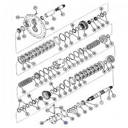Piasta wału napędowego case magnum 1981213C1