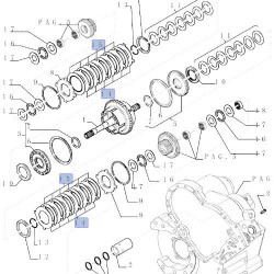 SUP3613 Zestaw uszczelnień filtra paliwa
