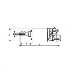 HYD2558 Zestaw uszczelnień siłownika ramienia koparkowego 63,5x135mm