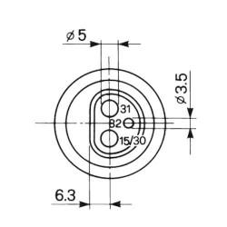 KV013228 Śruba stożkowa M12x34