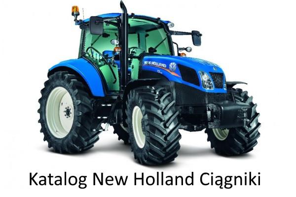 Katalog New Holland Ciągniki