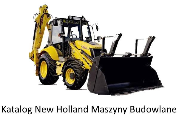 Katalog New Holland Maszyny Budowlane